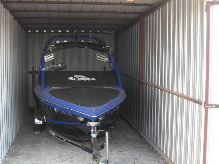 Enclosed Boat Storage